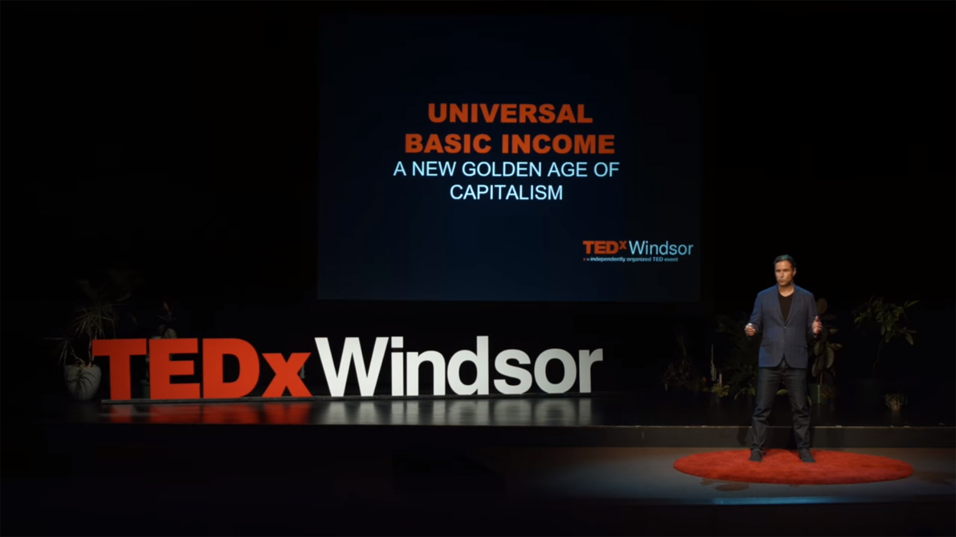 Basic Income and the New Golden Age of Capitalism - FloydMarinescu - TEDx